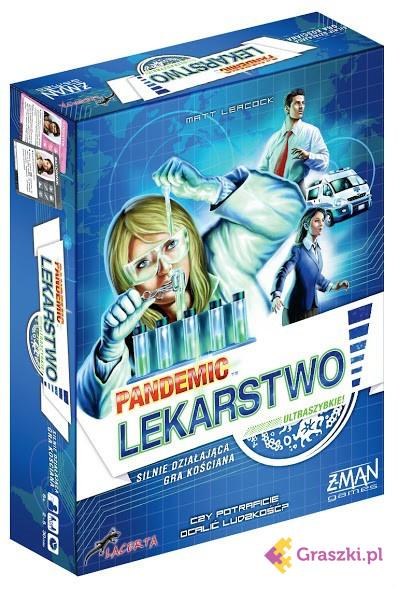Pandemic (Pandemia): Lekarstwo | Lacerta